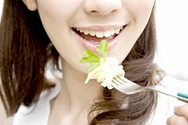歯垢(プラーク)のイメージ