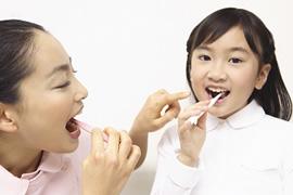 お子様の歯磨きについてのイメージ